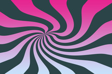 An Abstract Psychedelic Wavy S...