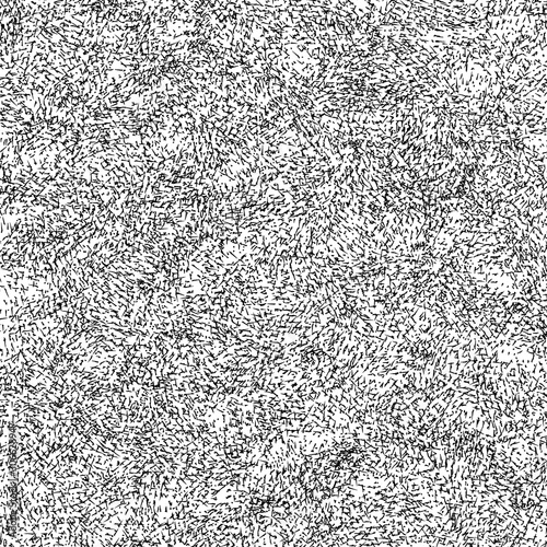 Vászonkép Abstract background with black crosshatching on white