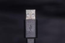 USB-Stecker In Nahaufnahme
