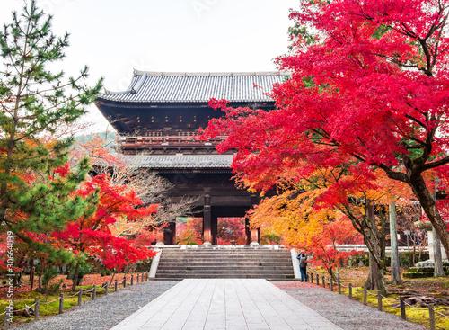 Photo 秋の京都 南禅寺 三門