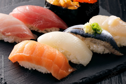 Fotografie, Obraz 寿司 Sushi. Japanese food