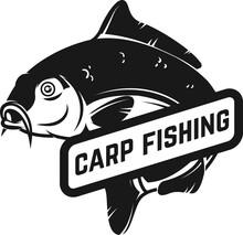 Carp Fishing. Emblem Template ...