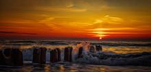 Beautiful Sunset On The Coast ...