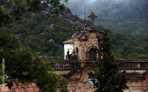 Lluc sanctuary, spiritual center of Mallorca. Spain Tapéta, Fotótapéta
