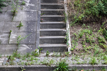 Different Steps And Stairs Fou...