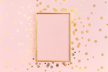Photo Frame Mock Up With Space...