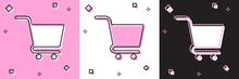 Set Shopping Cart Icon Isolate...
