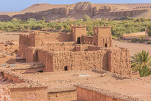 Close Up Of The Historic Fortification Of The Ksar Of Ait Benhaddou