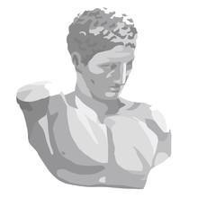 イラスト|石膏像|デ...
