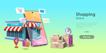 Online Shopping Landing Page T...