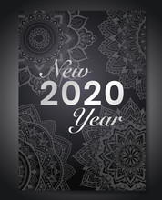 New Year 2020 Background With ...
