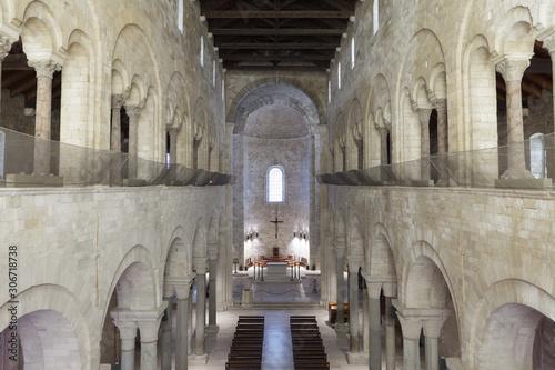 Interior of Trani Cathedral Wallpaper Mural