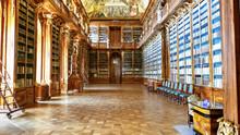 PRAGUE - Strahov Convent Libra...