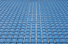 Rows Of Empty Stadium Or Venue...