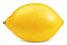 Whole Lemon Isolated On White ...