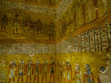 Hieroglyphics In The Tomb Of K...
