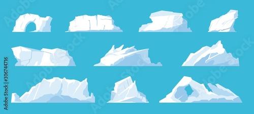 Fototapeta Icebergs