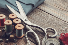 Retro Sewing Items: Tailoring ...