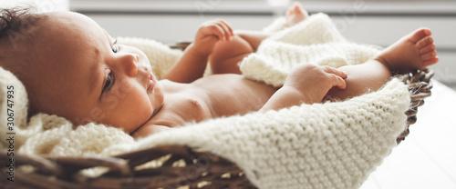 Obraz na plátne Baby innocence