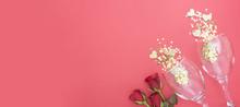 Valentine's Day Background, Bi...