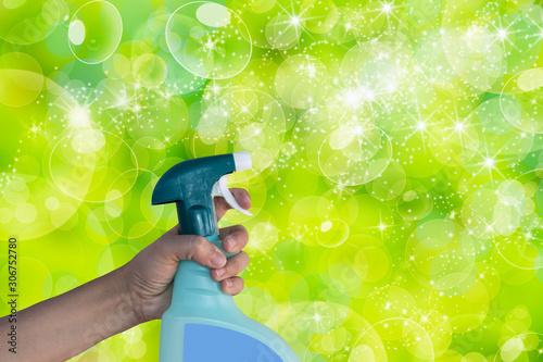 Cuadros en Lienzo conceptual de limpieza y aseo del hogar