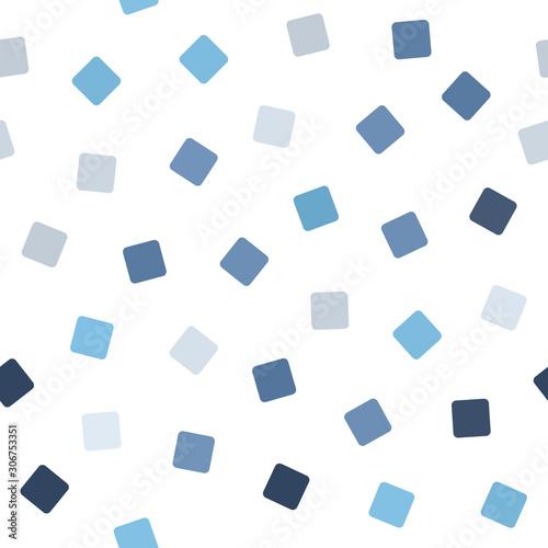 Fotografía  Square pattern. Seamless vector background