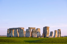 Stonehenge, Clear Evening Sky....