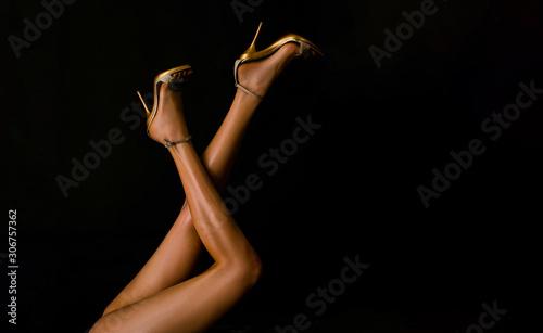 Valokuvatapetti Sexy woman legs