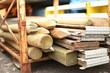 Materialien Holz