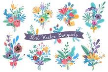 Bouquets. Garden Blooming Flow...