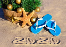 New Year 2020 On The Beach. Ch...