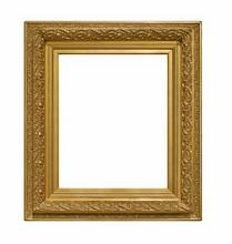Golden Frame For Paintings, Mi...