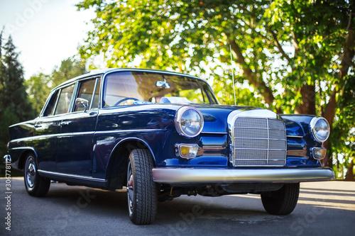 Retro vintage car