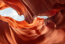 Canyon Antelope, Arizona. Abstract Background Texture. Travel Concept