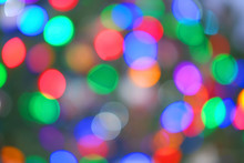 Abstract Out Of Focus Christma...