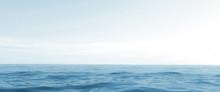 Horizon Of The Sea. 3d Render