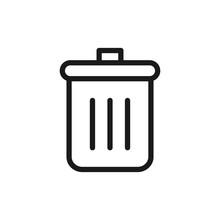Delete, Remove Symbol. Garbage...