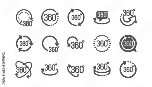 Tela 360 degrees icons