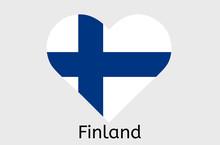 Finnic Flag Icon, Finland Coun...