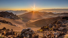 Sunrise At The Summit Of Maui'...