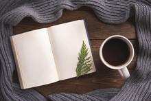 Winter, Cozy Composition. Warm...