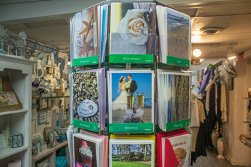 birthday weeding holiday greeting cards in local store for sale in sandwich  massachesetts
