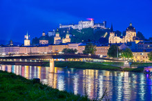 A View Of Salzburg, Austria Al...