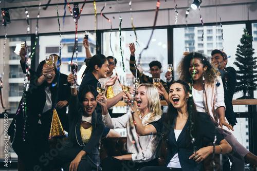 Business People Party Celebration Success Concept Fototapete