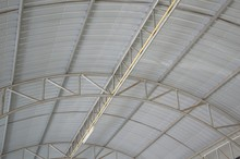 The Steel Roof Of Factory
