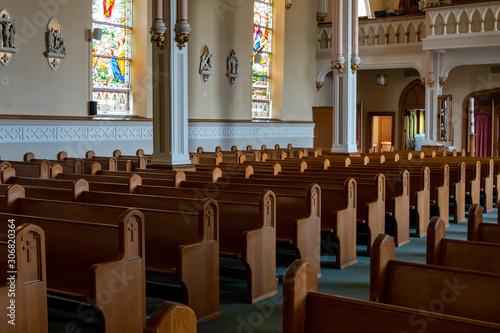 Church closure, COVID-19, worship Fototapet