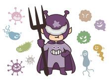 ばい菌 ウイルス