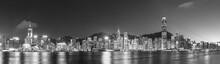 Panorama Of Victoria Harbor Of...