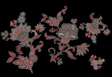 Classic Paisley Pattern, Wallpaper Pattern