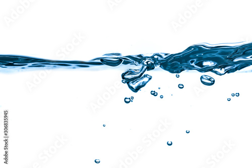 Obraz 물방울 - fototapety do salonu